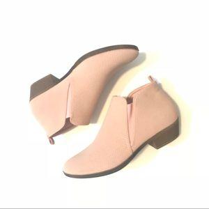 Size 8 blush booties